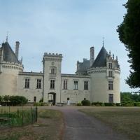 Le château de Brézé (près d'Angers) - Castle of Brézé (near Angers)