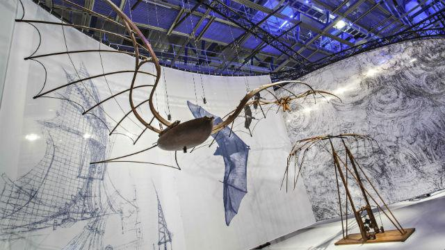 Expo Leonardo London2  fev16