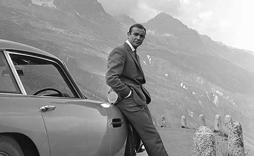 Expo James Bond -Sean-Connery