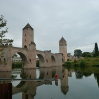 Cahors dans la région du Quercy