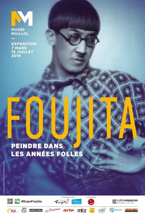 affiche expo Foujita