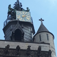 Dijon, l'église Notre-Dame.