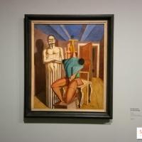 Expo Giorgio de Chirico au musée de l'Orangerie à Paris.
